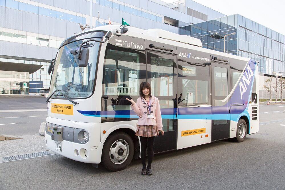 SBドライブ 自動運転バス IoT女子 高町咲衣 1