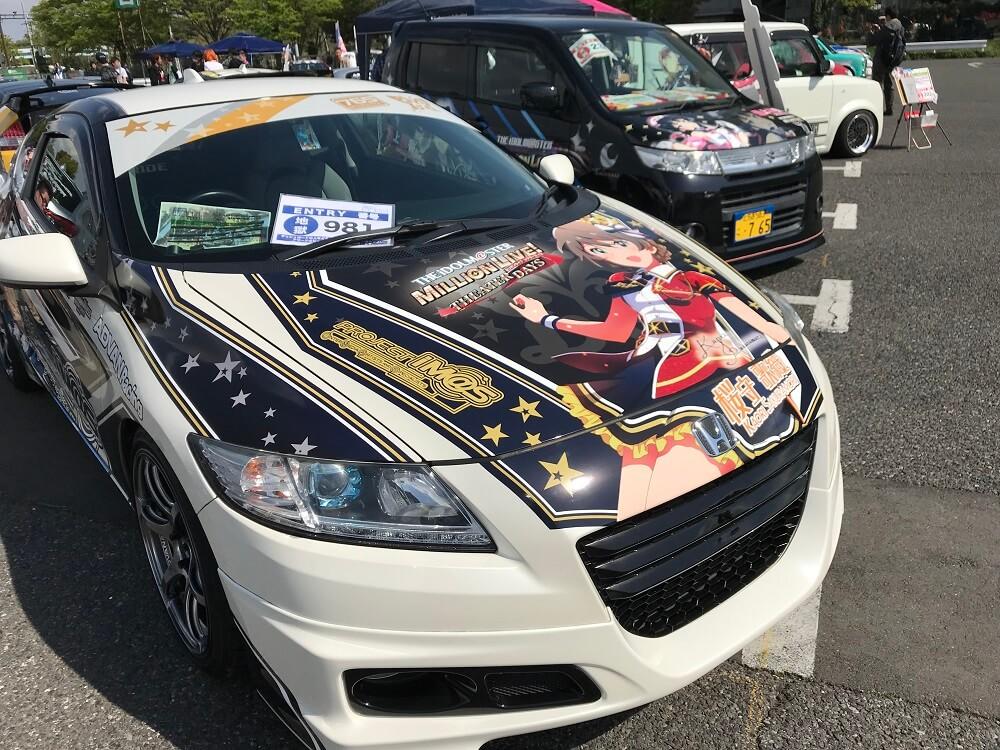 アイドルマスターの痛車 その3 2018お台場痛車天国