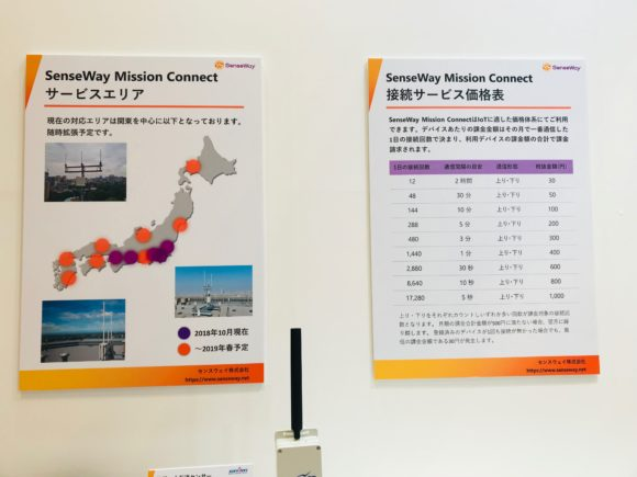 JapanITWeekセンスウェイ株式会社 展示パネル1